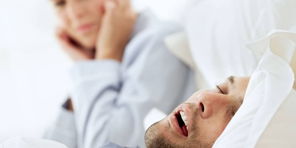 Woman having trouble sleeping